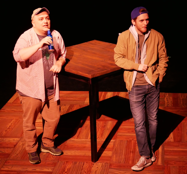 Greg Cote and Noah Alderfer as Ethan and John in FROM WHITE PLAINS