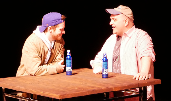 Noah Alderfer and Greg Cote as John and Ethan in FROM WHITE PLAINS