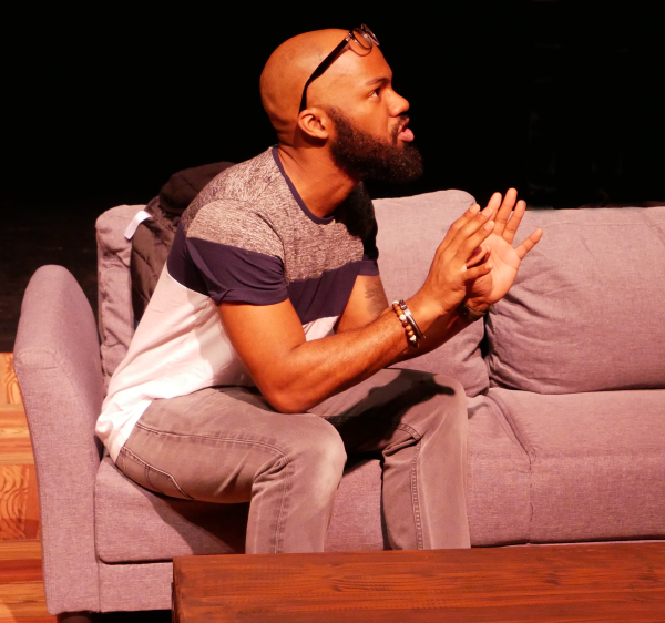 Domonique Champion as Gregory in FROM WHITE PLAINS