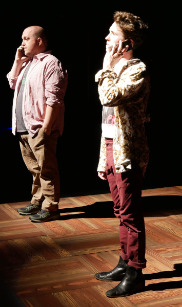 Greg Cote and Wesley Whitson as Ethan and Dennis in FROM WHITE PLAINS