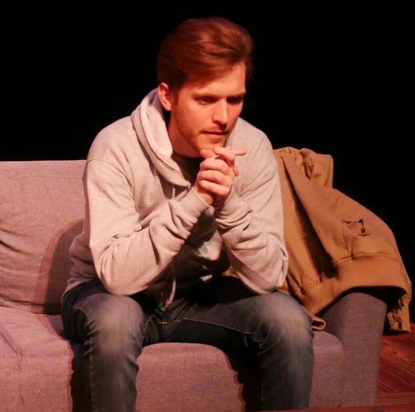 Noah Alderfer as John in FROM WHITE PLAINS