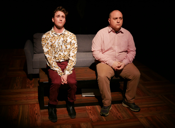 Wesley Whitson and Greg Cote as Dennis and Ethan in FROM WHITE PLAINS